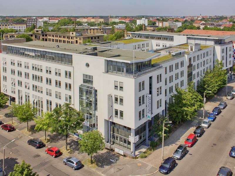 Modernes Bürogebäude in der Leipziger Hohmannstraße